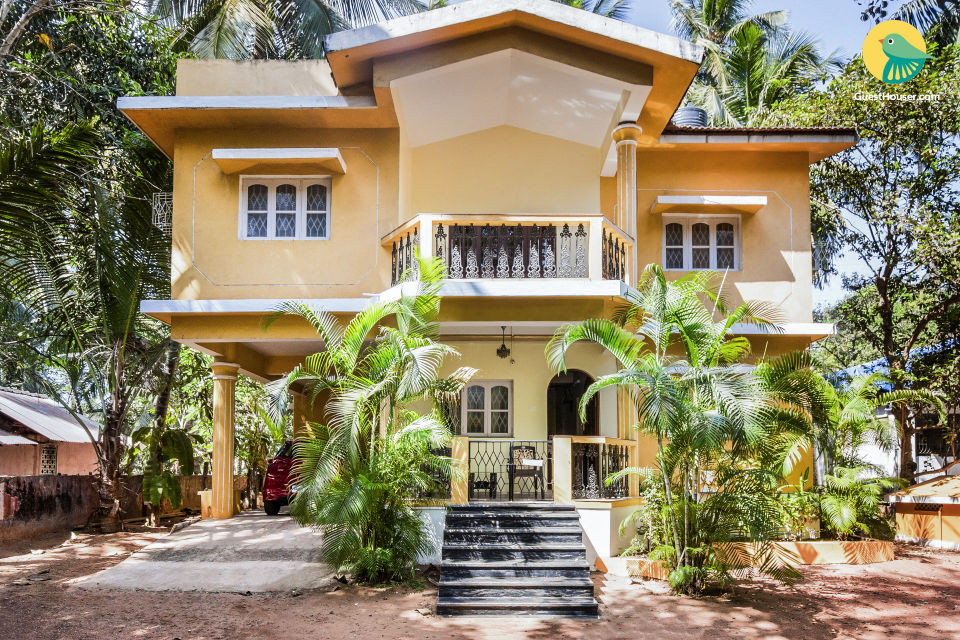 Cheerful stay for three, 2 km from Calangute Beach