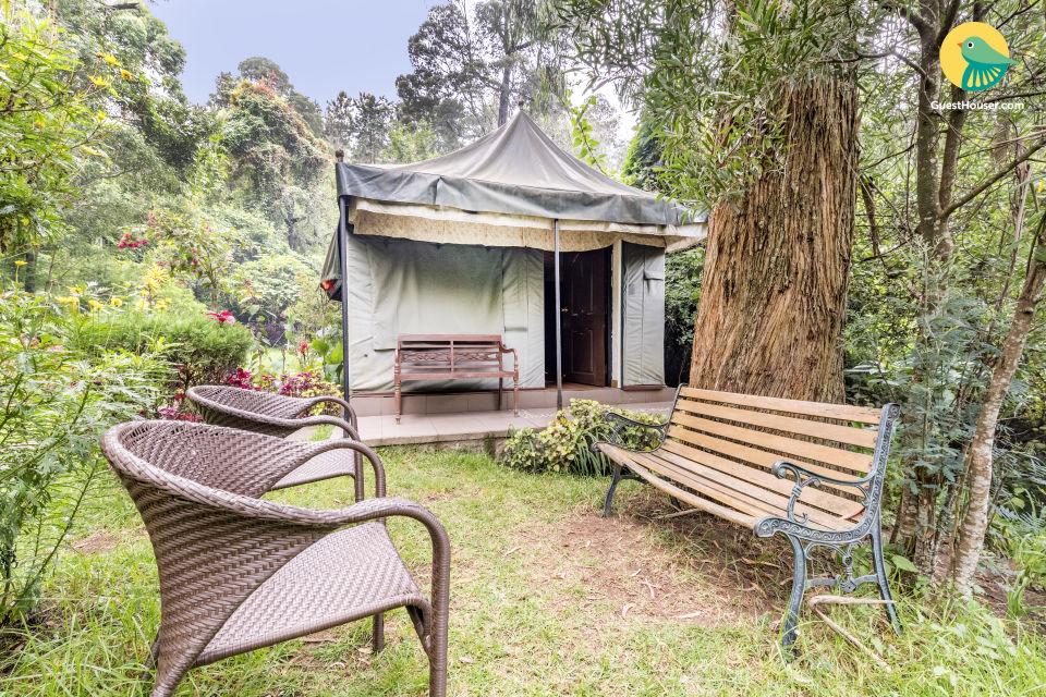 Elegantly done tent, 1.5 km from Chettiar Park
