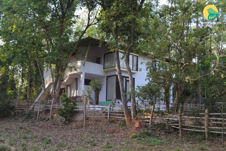 Tranquil 8-BR homestay amidst a lush green jungle