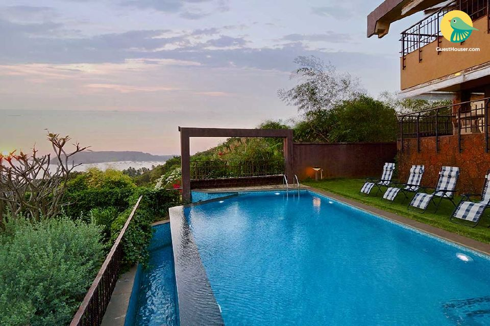 Luxurious stay in a 4-BR villa, with an infinity pool