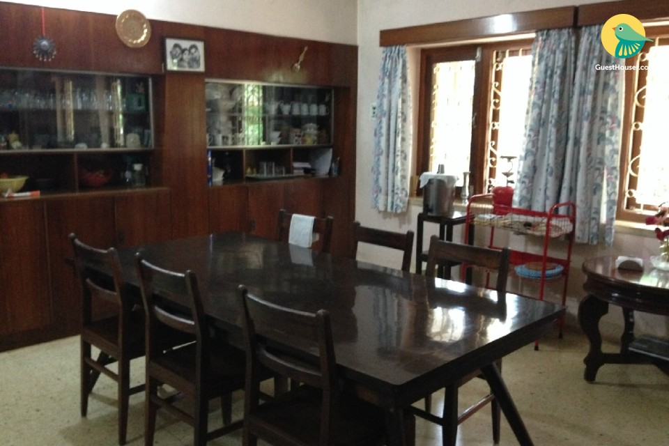 A perfect 4 bedroom accommodation for a family stay