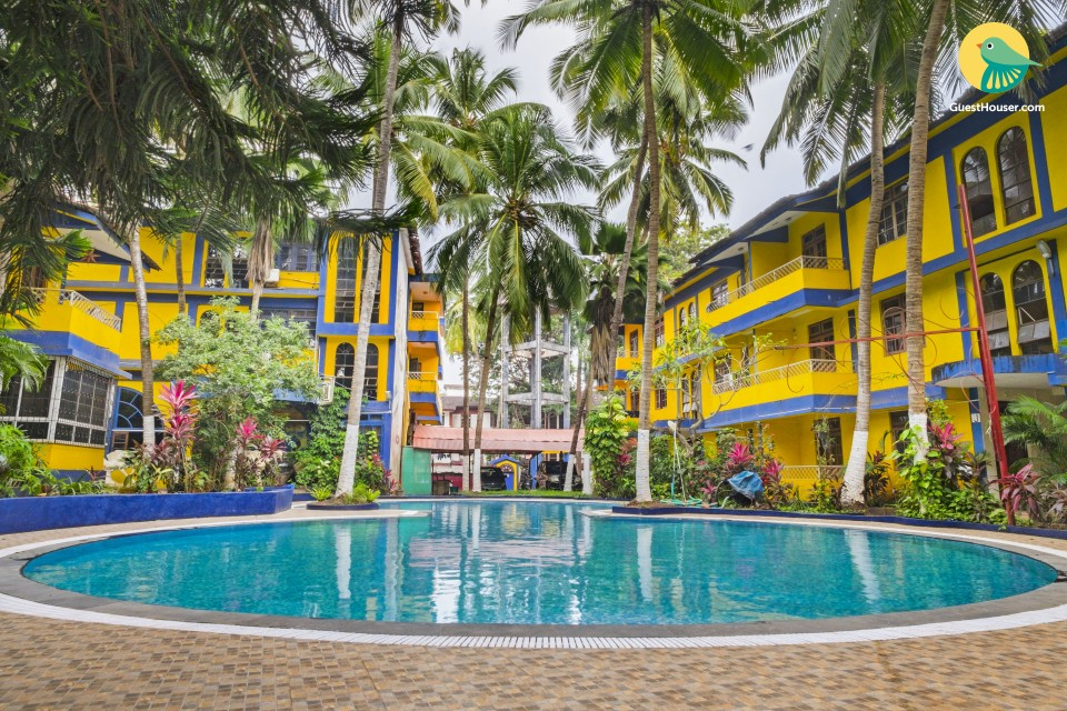 Chic boutique room, 2 km from Calangute Beach