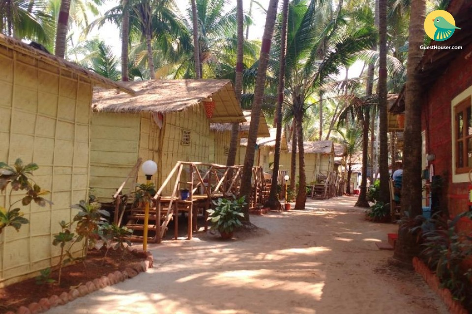 Cane Cottage in North Goa