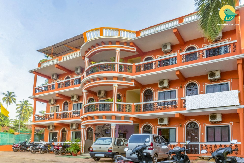 1-bedroom boutique stay, 1.3 km from Calangute Beach