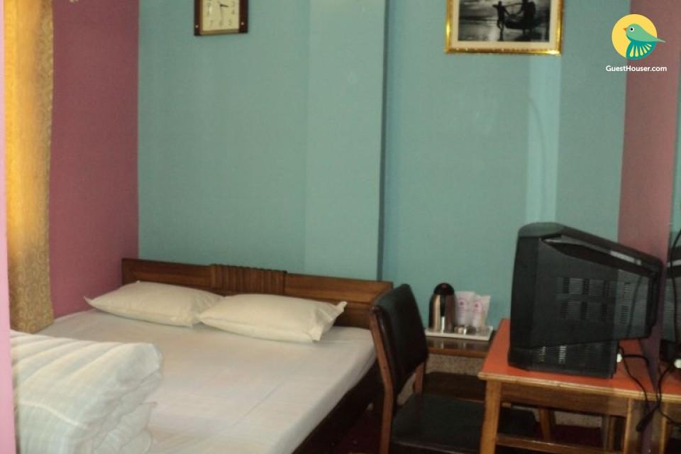 Modest room for 3