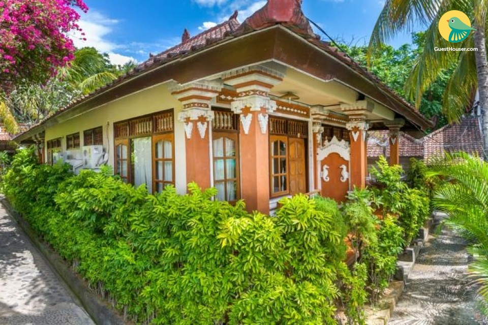 stay in a wonderful bungalow
