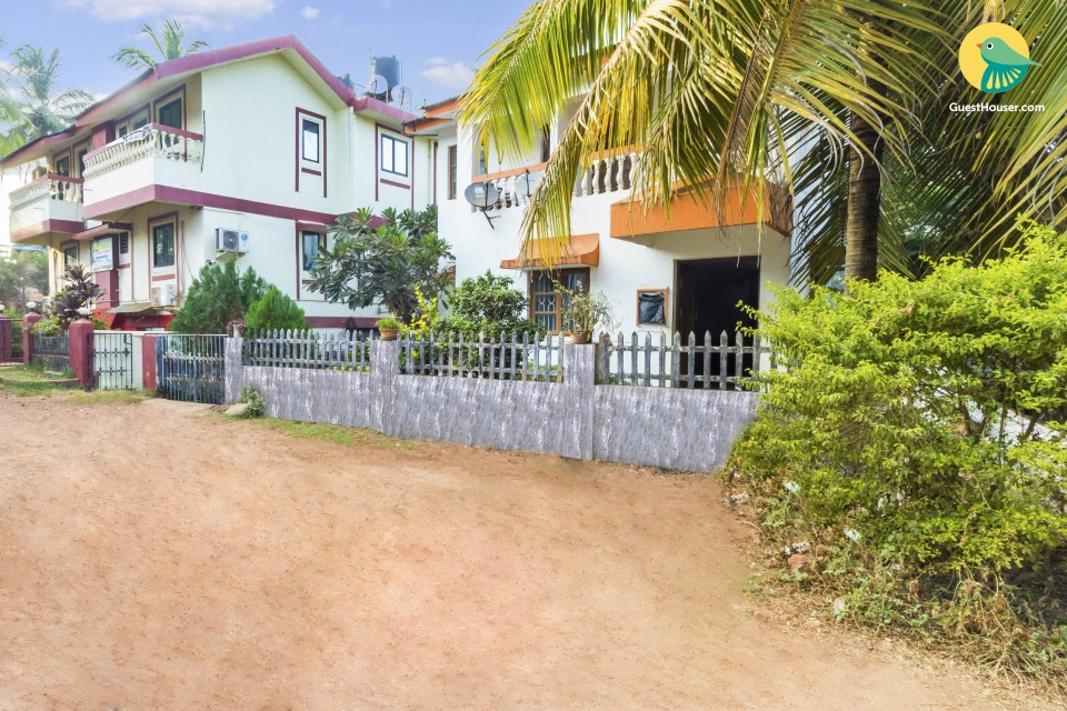 4-BR pet-friendly villa, close to Baga Beach