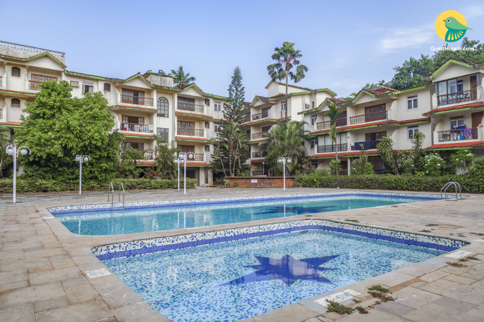 Elegant 2 BHK near Calangute Beach