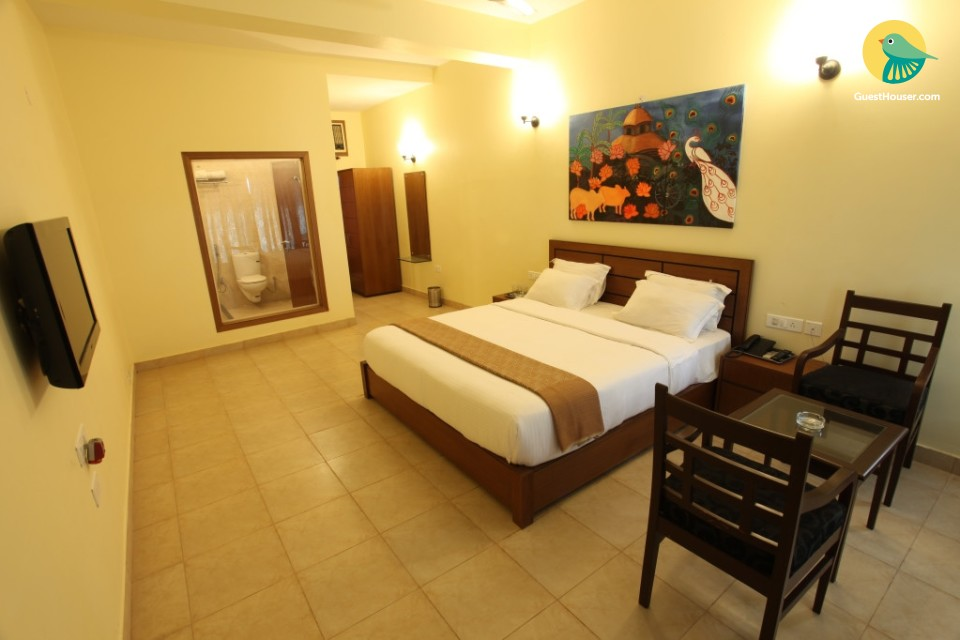 Luxurious and spacious rooms to stay