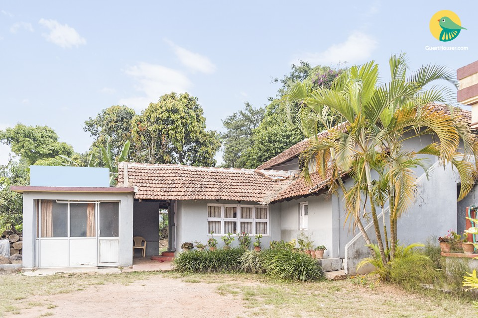 Rustic 4-BR cottage for a group stay, 1.4 km from Madikeri Fort