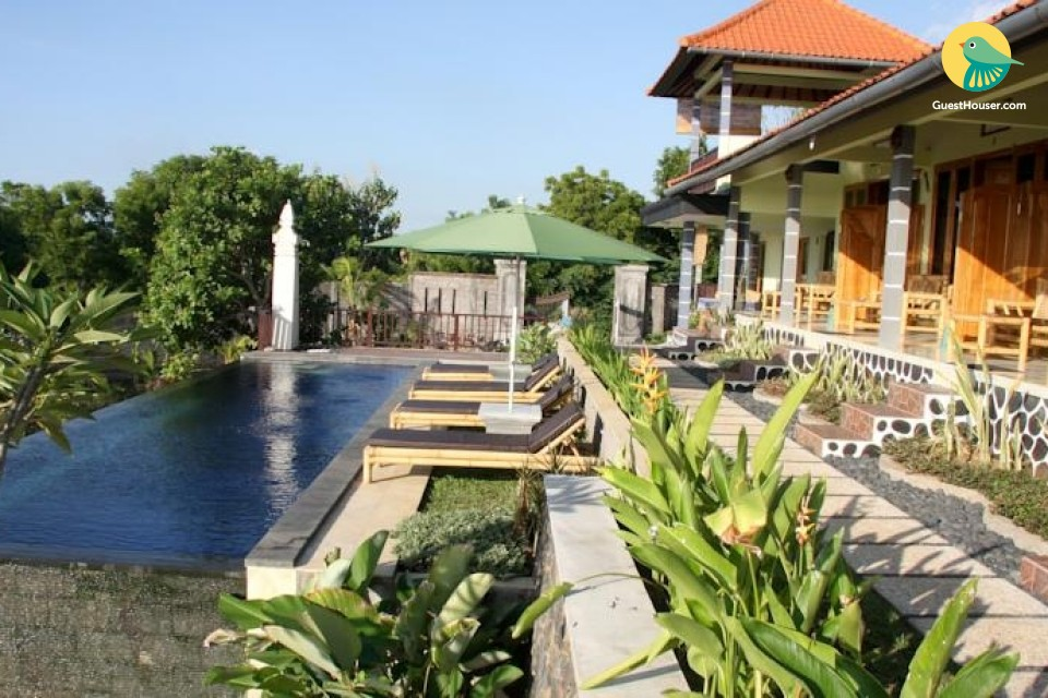 A warm and blissful hideout in bali