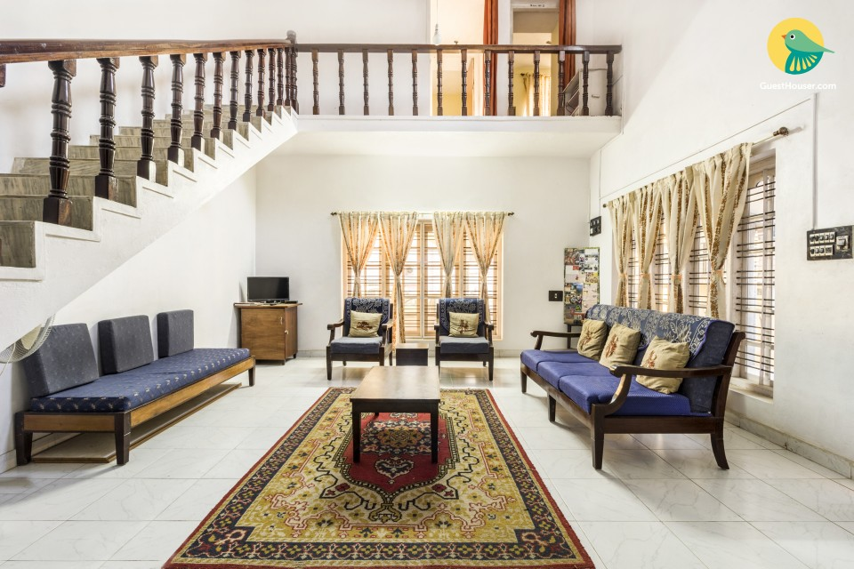 Comfy 3-BR cottage, close to Madikeri Fort
