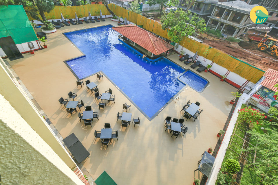 1 Bedroom Luxury Apartment with shared pool in Assagao, Proximity To Anjuna Beach